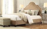 Lizz Euopean Style Platform Linen Double Bed