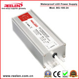 24V 4.3A 100W Waterproof IP67 Constant Voltage LED Power Supply Bg-100-24