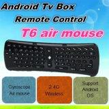 Hot Wholesale Remote Control T6 Air Mouse