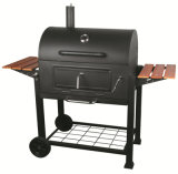 Outdoor BBQ Charcoal Grill with Side Table for Germany