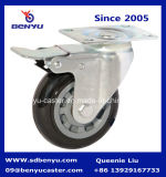 Medium Duty Caster Wheel Twin Brake for Shopping Cart