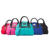 Classical Style Fashion Lady Nylon Quilted Tote Handbags (PH1607)
