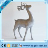 Resin Sculpture Christmas Decor Deer Statue