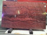 Wholesale Natural Stone Revolution Fire Red Tiles Polished Granite Slabs