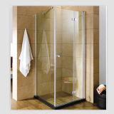 Single Door Aluminum Tempered Glass Shower Enclosure