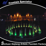 Dry Fountain with RGB Lamp in Malaysia