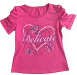 Fashion Girl T-Shirt in Children Clothes with Print Sgt-070