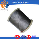 Black Color No-Roating Steel Wire Rope with Many Layers