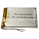 High Quality Rechargeable Lithium Polymer Battery Cell (820mAh)
