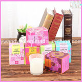 2015 Hot Sale Decorative Soy Wax Candle Scented in Glass Jar
