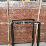 Natural Stone Rosa Tea Red Marble Slab for Paving, Tombstone