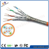 S/FTP Cat 7 Twisted Pair Network Cable