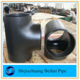 Carbon Steel A420 Wpl6 Seamless Sch80 Bw Straight Tee