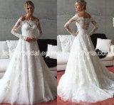 Lace Bridal Wedding Gown Beatu Long Sleeves Wedding Dress Ld15253