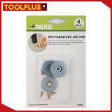 4PCS PP Furniture Gliders with Screws