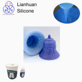 MSDS / SGS RTV Mould Making Silicone Rubber for Colored Crafts Products