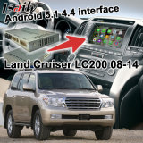 Android GPS Navigation System Box for Toyota Land Cruiser LC200 Video Interface Quad Core etc