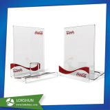 Acrylic Desktop Display Stand Holder, Acrylic Sign Holder