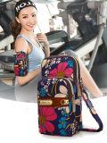 Multifunctional Outdoor Mini Sports Wrist Bag, 3 Layers Storage Zipper Waterproof Nylon Crossbody Shoulder Bag Cell Phone Pouch Handbag Armband Case