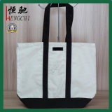Customized Color Recycled Durable Luxury Cotton Tote Shopper Bag