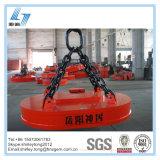 Oval Shape Lifting Electromagnet for Loading Steel Scraps