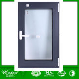 Thermal Break Aluminum Casement Window with Double Glass