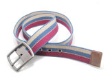 Classic Cotton Webbing Braided PU Fashion Belt Cky0292