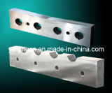 Steel Rod Guillotine Cutting Blades for Cutting Steel Bar (JHSX-120802112)