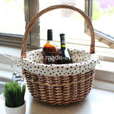 High Quality Strong and Durable Handmade Wicker Basket with Liner