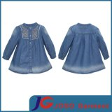 Factory Wholesale Long Denim Dress for Girls (JT5008)