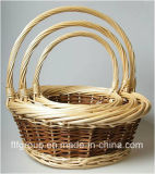 Canton Fair Handmade Home Decoration Picnic Basket Gift Basket Wicker Basket