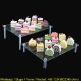 Fashionable Transparent Acrylic Cakes Display Stand