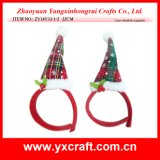 Christmas Decoration (ZY14Y33-1-2 22CM) Christmas Peaked Cap