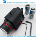 Tactical Red Laser Sight and 200 Lumen CREE Q5 LED Light Combo with Strobe Laser