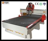 High Quality Pneumatic Two Heads China Wood CNC Carving Machine