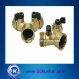 High Precision Brass Connectors for Machines