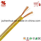 Ofc 0.75mm 1.5mm Transparent Speaker Cable From China Cable Factory