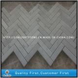 Carrara White Marble Stone Small Mosaic Floor Tile, Mosaic Idea