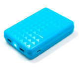 Mobile Power Supply LED Torch Portable 10000mAh Power Bank Charger
