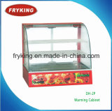 Electric Food Warmer Showcase for Restaurant and Hotel