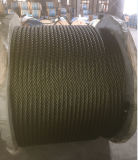 Marine Rope 6*19s, China Annealed Iron Wire, with Fatigue Resistance
