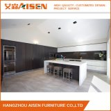 Mixed Style Handless Design Modern Kitchen Cabinet with Island
