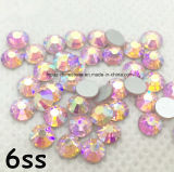 Best Quality Ss6 Ss10 Ss20 Ss30 Korea Lt Rose Ab Color Hotfix Rhinestone (HF-ss6-ss30 lt rose ab)