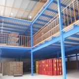 Warehouse Rack Supported Multi-Tire Rack Mezzanine for Storage