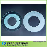 3mm-4mm Round Tempered Lighting Glass for Underground Light
