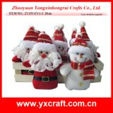 Christmas Decoration (ZY15Y173-1-2) Christmas Stuffed Toy Tray Collection