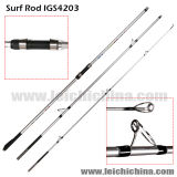 Top Quality 99% Carbon Fiber Surf Spinning Rod Igs4203