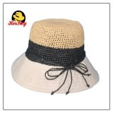 Cotton Straw Bucket Hat