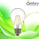 360 Degrees A60 Dimmable E27 E26 B22 4W LED Filament Candle Lamp Filament LED Lighting LED Filament Bulb