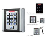 Square Design Metal Keypad Access Control RFID Reader Device (K6EM-W)